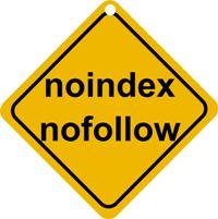 nofollow и  noindex