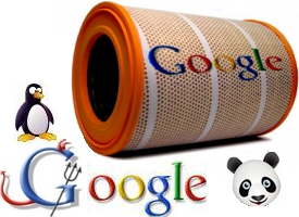 фильтры Google Панда и Пингвин