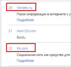 русские ресурсы в мировом рейтинге alexa