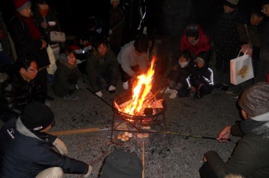японцы жарят на новый год